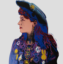 Andy Warhol Annie Oakley canvas print giclee 8X8&12X12 reproduction art poster