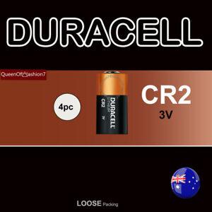 4 x Duracell CR2 3V Camera Photo Flashlight Lithium Loose Battery Batteries