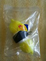 INNOVATIVE SCUBA Yellow Pop-Up Marker Buoy with 75' line, weight & strap- Marker