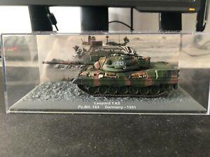 de Agostini leopard 1 A5, pz.btl 184 germany 1991 OVP Panzersammlung mit Vitrine