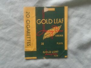 UNITED TOBACCO COS. CAPE TOWN – GOLD LEAF – 20 CIGARETTE PAPER PACKET