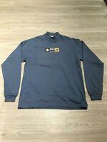 Vintage 90s Idaho Embroidered Long Sleeve Turtleneck Sweater Shirt Womens M USA