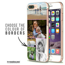Cubierta dura teléfono caso Collage Personalizado APPLE IPHONE 7 8 Plus 6S 11 PRO XR XS