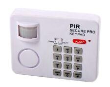 Sensor de movimiento PIR alarma alarma de seguridad inalámbrico de puerta Garaje Cobertizo Teclado Burgular