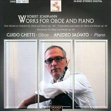 Robert Schumann Oeuvres pour hautbois et piano, New Music