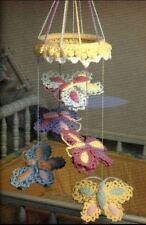 Crochet Pattern Butterfly Baby Cot Mobile Nursery