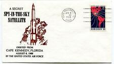 1968 SPY-IN-THE-SKY Secret Satellite Cape Kennedy USAF Cape Canaveral NASA
