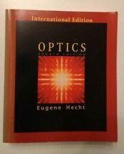 Optics von Alfred Zajac und Eugene Hecht (2003, Taschenbuch) 4th Edition