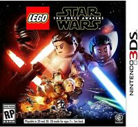 NINTENDO 3DS VIDEO GAME LEGO STAR WARS THE FORCE AWAKENS BRAND NEW SEALED