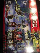 Lego 70732 NINJAGO Masters of Spinjitzu CITY OF STIIX New 1 Seal Broke Box Dents