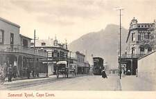 CAPE TOWN, SOUTH AFRICA ~ SOMERSET ROAD, TROLLEY, PEOPLE ~ c. 1904-14
