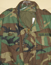 Military M-65 Parka MEDIUM SHORT Coat Camouflage Field Jacket Grn Blk Brown 5C11