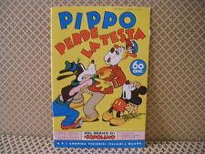 Pippo perde la testa -Nel regno di Topolino-  Albo n. 88- 25-8-1939 (AB0)