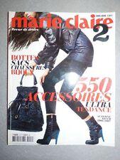 Magazine MARIE CLAIRE HORS SERIE 2 automne hiver 2006 / 2007 accessoires