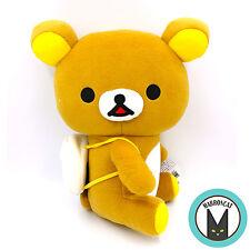 Genuine Japan Limited San-X Rilakkuma Bear Onigiri Rice Ball Backpack Big Plush