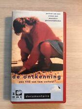 De Ontkenning Ex-Rental Vintage VHS Tape Dutch NL Docu Videoband English Subs