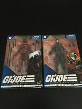 GI JOE Classified Series Set of 2. Red Ninja & Cobra Commander. Never Opened