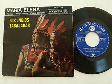 """LOS INDIOS TABAJARAS : Maria Elena - 7"""" EP 45T 1965 French RCA VICTOR 86.350"""