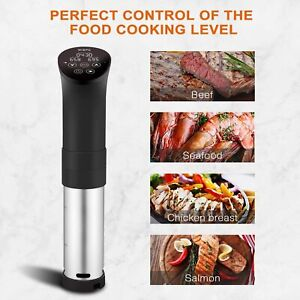 Sous Vide Precision Cooker with  Digital Circulator Ultra-Quiet 1000W