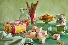 Rhubarb and Custard Crumble   Happy Mallows   Handmade Gourmet Marshmallows