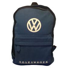 Oficial VW Lona Mochila - Azul