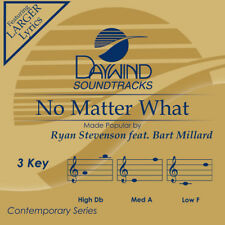 Ryan Stevenson - No Matter What -  Accompaniment / Performance Track - New