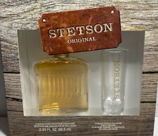 Stetson Original Collector's Edition Cologne 2.25 oz & Shot Glass Gift Set NEWD3