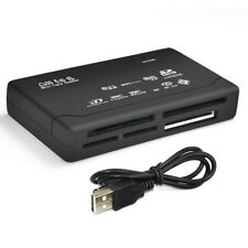 Multi All in1 Mini SD to USB Card Memory Card Adapter Reader Supports 64GB Black