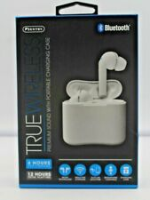 Sentry BT957W True Wireless Micro In Ear Buds WITH CHARGING CASE - WHITE