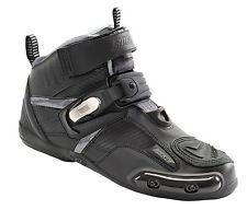 Joe Rocket Atomic Motorcycle Shoe Black Gray Size 12 Mens Race Stunt Drag Shoes