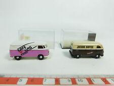 Bd379-0, 5# 2x Brekina h0/1:87 Volkswagen/VW T 1: 3201 Jacobs +3271 HAG, S.G. + OVP