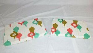 Pr Vtg 60s Sears Nesting Christmas Gift Boxes W/ Shiny Brite Style Ornaments