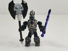 Mega Bloks Arthas Menethil The Lich King Warcraft Figure Not Complete Good Cond