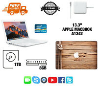 Apple MacBook A1342, H Sierra 8GB RAM - 1TB HDD - A Grade - F75