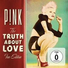 Pink -The Truth About Love Album (Fan Edition) CD+DVD Gift IDEA P!NK Music NEW