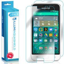 2x iLlumi AquaShield Front + Back Panel Protector for Samsung Galaxy Express 3