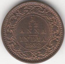 1932 la India británica George V 1/12th Anna *** *** Coleccionistas