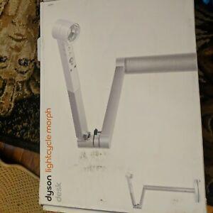 Dyson CD06 Lightcycle Morph Adjustable Desk Smart lamp Silver/White Open Box