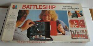 Vintage  MB Games Battleship. Complete.