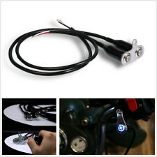 Motorcycle LED Dual ON-OFF Push Button 12V Headlight Hazard Fog Light Switch X1