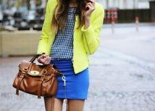 ♥*ZARA* Veste/blazer tweed jaune fluo T.S TBE♥PAS PAYPAL