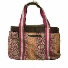 Tommy Hilfiger Purse Multi-Colored Large Hobo Handbag Tote EUC