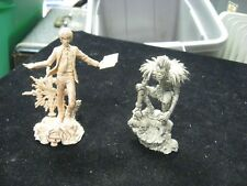 "3"" & 4"" Plastic Death Note Snap Together Figures"
