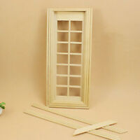 Fashion 1:12 Scale Dollhouse Miniature Furniture Handcrafted Door  New..