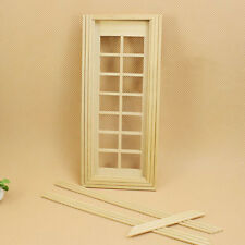 Fashion 1:12 Scale Dollhouse Miniature Furniture Handcrafted Door  New.