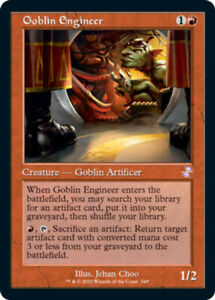 Goblin Engineer x1 Magic the Gathering 1x Time Spiral Remastered mtg card