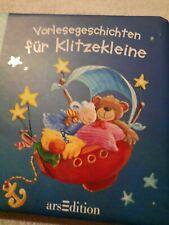 Buch VORLESEGESCHICHTEN AK Birkenstock Kinderbuch Bilderbuch Pappe Gute Nacht 2+