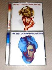DAVID BOWIE  -  THE BEST OF 1974/1979 e 1980/1987 -  3 CD 1998/2007 DISCHI NUOVI