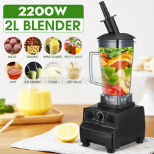 2L 2200W Blender Heavy Duty Commercial Grade Blender Mixer Juicer Heating Tool