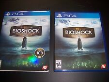 Replacement Case (NO GAME) Bioshock w/Sleeve PlayStation 4 PS4 Box